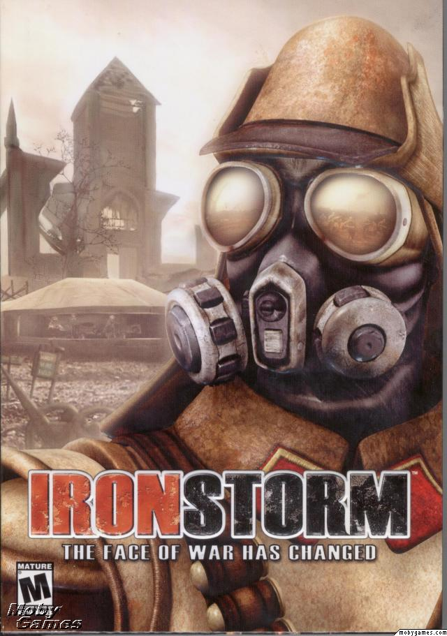 Iron Storm Game Case Front Cover