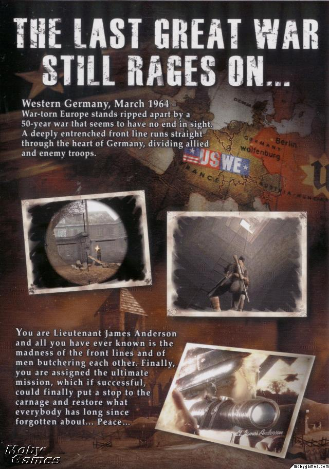 Iron Storm Game Case Cover Inside