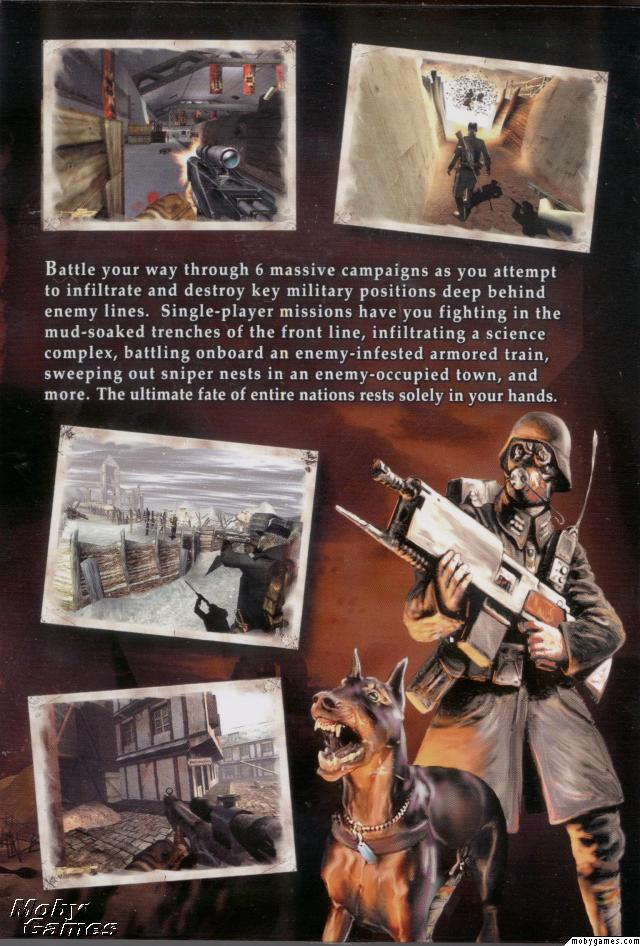Iron Storm Game Case Inside Cover Art 2